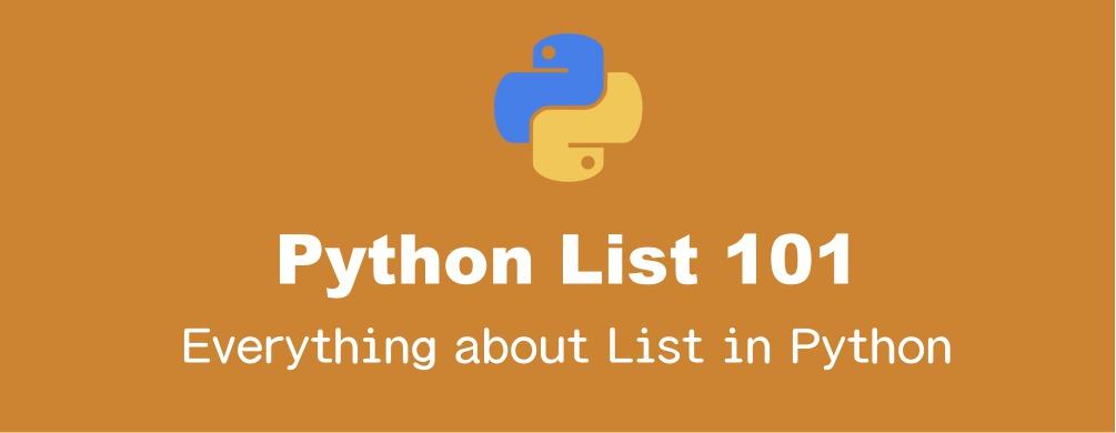 Pythonのリストの基本的操作まとめ