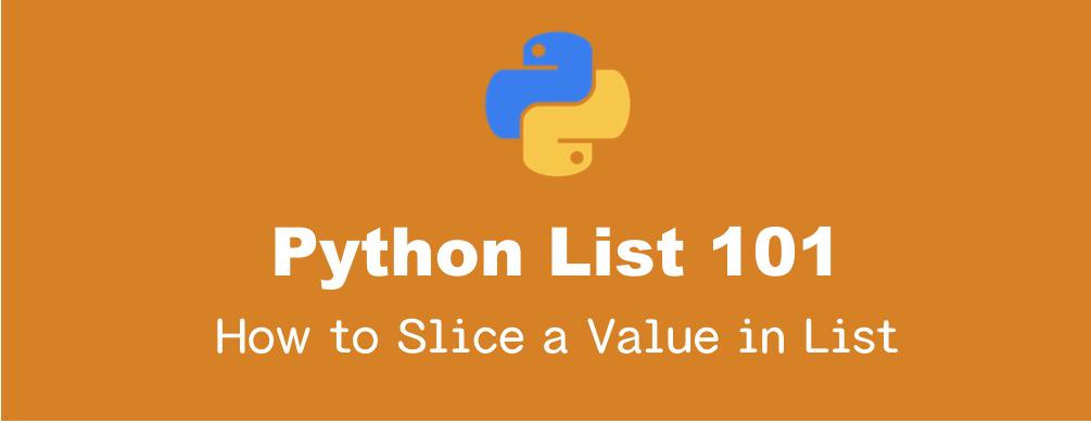 Pythonのリストのスライスと分割