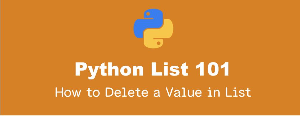 Pythonのリストの要素を削除する方法|pop(), remove(), clear(), del文