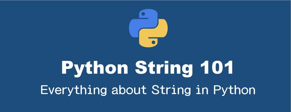 Pythonの文字列の基本的操作のまとめ