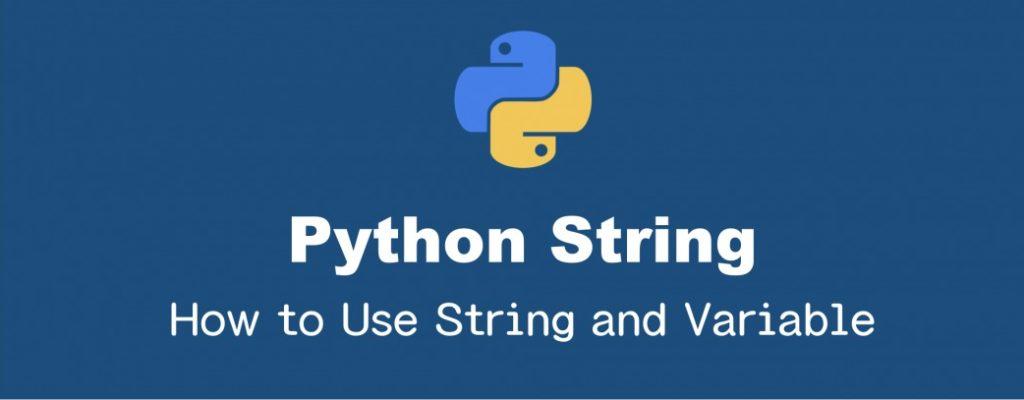 Pythonの文字列の中で変数を展開する方法