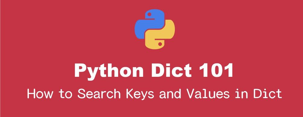 Pythonの辞書(dict)のキー・値の存在確認と取得方法|in文, get()他