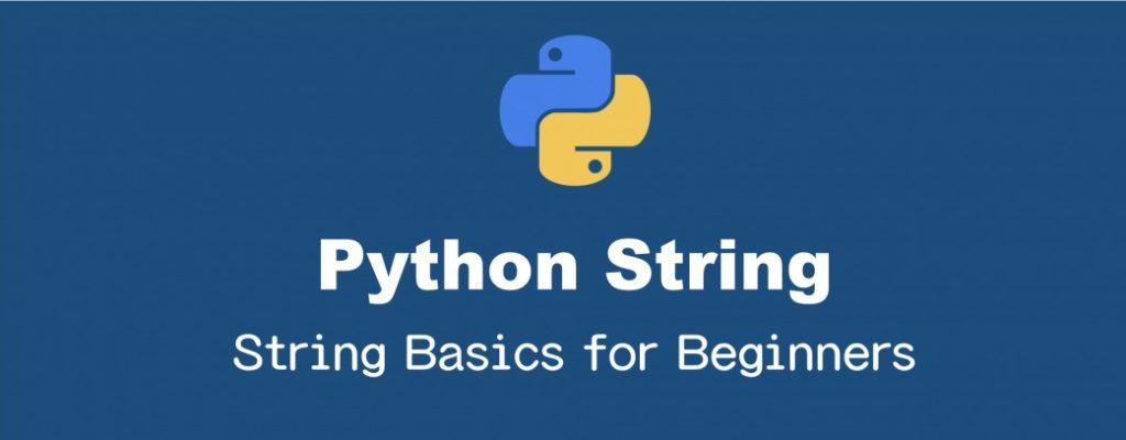 初心者のためのPythonの文字列操作の基本