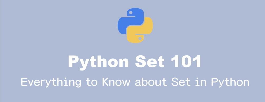 Pythonのset(集合)の基本的操作のまとめ