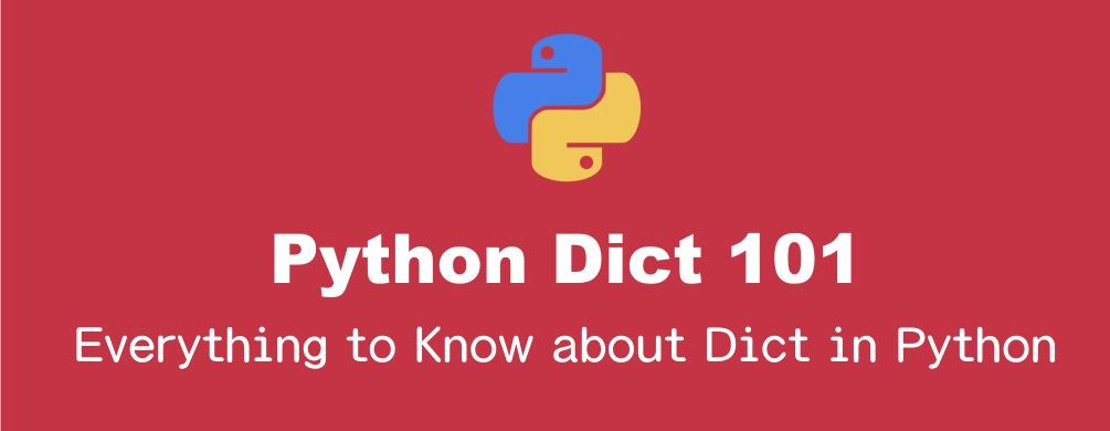 Pythonの辞書(dict)の基本的操作の全て