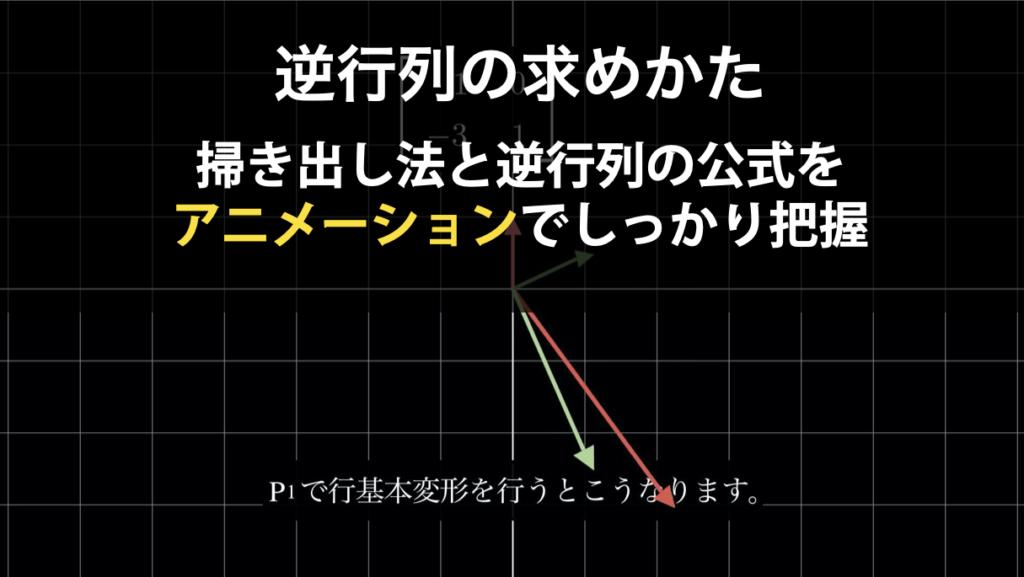 逆行列の求め方(掃き出し法と逆行列の公式)